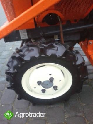Kubota Bultra B 10  10 KM TUR mini mikro traktor 4x4 Yanmar  - zdjęcie 4