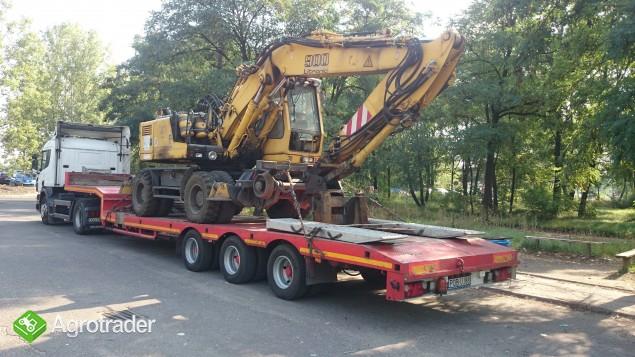 Transport Maszyn leśnych maszyn rolniczych maszyn budowlanych - zdjęcie 1