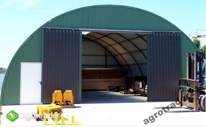 Hala łukowa Konstrukcja Stalowa Hale łukowe Garaż Agrotraderpl