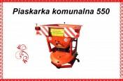 Piaskarka komunalna drogowa 380 L / 550 kg