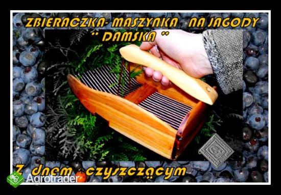 zbieraczka - maszynka -kombajn do jagód i borówek