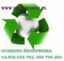 Ochrona środowiska, ewidencja odpadów, sprawozdani