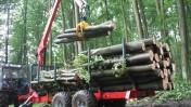 Profesjonalne przyczepy leśne -PERZL