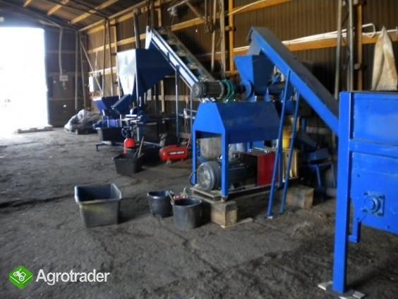 Linia do produkcji granulatu z kurzeńca - zdjęcie 1