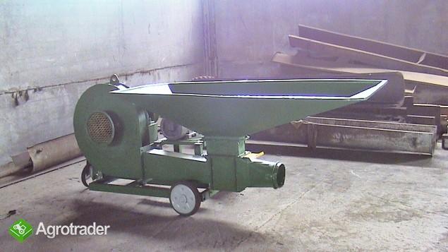 Dmuchawa do zboża wydajność 6-7 t/h silnik 7,5 KW. - zdjęcie 3