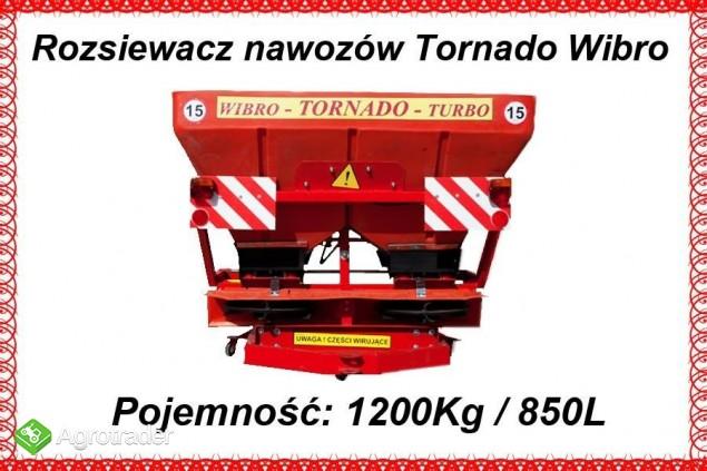 Unia ROZSIEWACZ NAWOZÓW TORNADO WIBRO 850 L 1200 KG - 2013 - zdjęcie 2