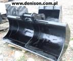 Używana łyżka skarpowa do koparki gąsienicowej JCB