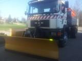 Pługi śnieżne do ciężarówki i ciągnika - producent