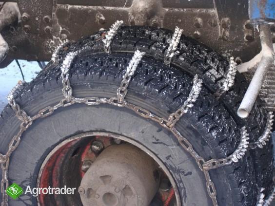 Łańcuchy na koła z kolcami antypoślizgowe - zdjęcie 1