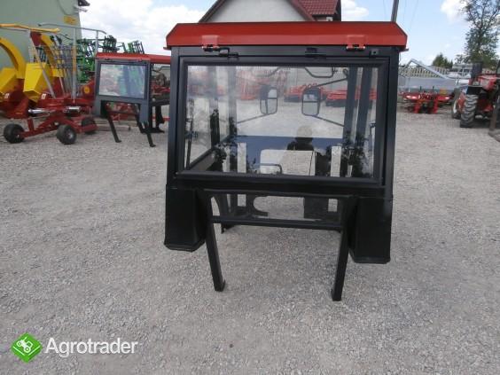 Kabina sadownicza C330 C360 sadownik kabiny sadownicze bez błotnika  - zdjęcie 4