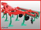 Agregat podorywkowy gruber kołkowy ząb sprężynowy AGRO-MASZ