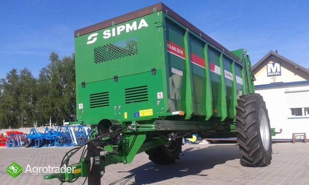 Rozrzutnik obornika firmy Sipma RO 600 Zefir  - zdjęcie 2