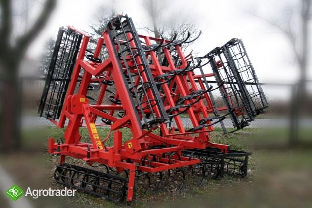 Agregat uprawowy składany hydraulicznie 4,6 KAMIX - zdjęcie 2