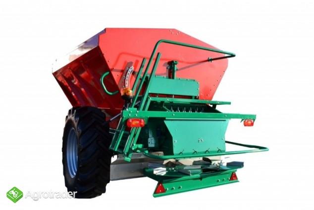Rozsiewacz do wapna REWO 8200 litrów Agro-Masz - zdjęcie 3