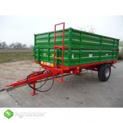 Przyczepa przyczepy rolnicza jednoosiowa GOMAR GPJ 103/1 - zdjęcie 3