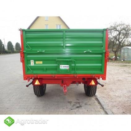 Przyczepa przyczepy rolnicza jednoosiowa GOMAR GPJ 103/1 - zdjęcie 4