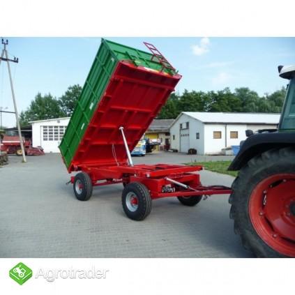 Przyczepa rolnicza przyczepa dwuosiowa GOMAR GPT 107 - zdjęcie 3