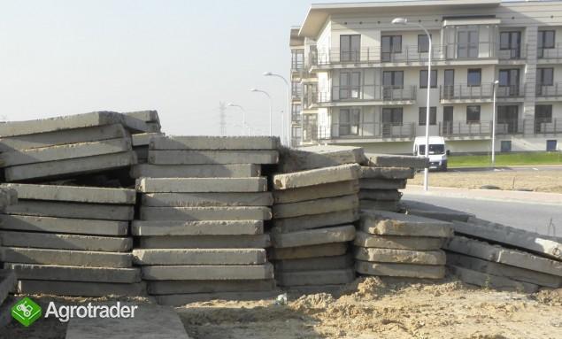 Sprzedam płyty drogowe betonowe MON / POZNAŃ - zdjęcie 1