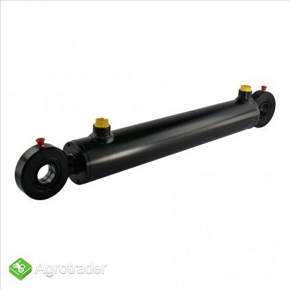 Cylinder hydrauliczny siłownik  SKOK 400 L 630 tłok 2-str działania - zdjęcie 1
