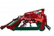 Agregat uprawowy ciężki AGRO-MASZ hydraulicznie składany