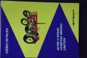 Katalogi,instrukcje napraw, obsługi ciągników URSUS, MF