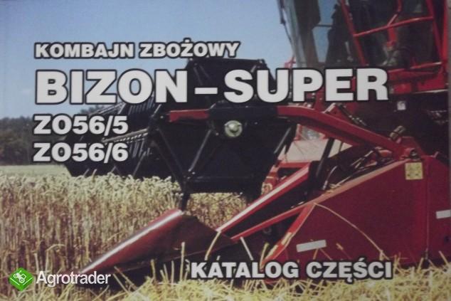 Katalog części do kombajnu zbożowego,instrukcji obsługi napraw BIZON - zdjęcie 3