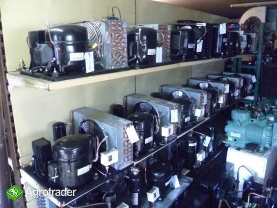 Używane agregaty chłodnicze spreżarka chłodnicza parownik skraplacz  - zdjęcie 4