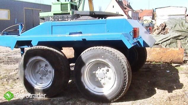 Wózek z siodłem 2 osie (Tandem) po odbudowie. - zdjęcie 2