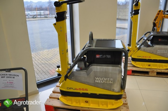 Euro-Maszyny WACKER NEUSON DPU 6555 HE PO ODNOWIE  LAKIERNICZEJ