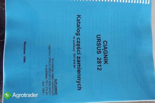 Katalog części zamiennych URSUS 2812 SUPLEMENT