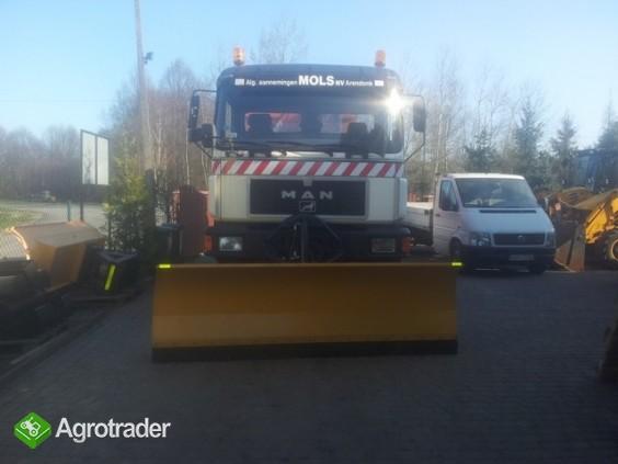 Pługi śnieżne do ciągnika i ciężarówki - producent - zdjęcie 1