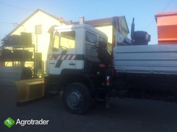 Pługi śnieżne do ciągnika i ciężarówki - producent - zdjęcie 4