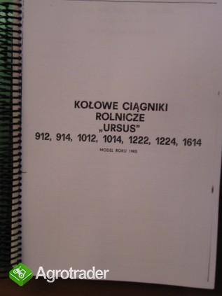 Instrukcja napraw ciągnika URSUS 912,914,1012,1014,1222,1224,1614