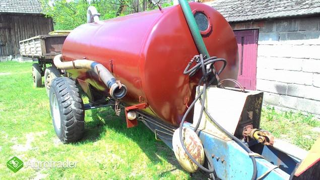 Beczka Wóz asenizacyjny Meprozet T519 4200 l - zdjęcie 3