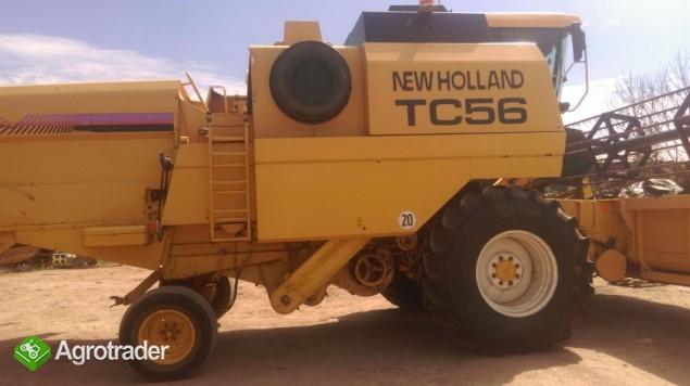 New holland tc 56 1998r podobny jak bizon rekord  - zdjęcie 3