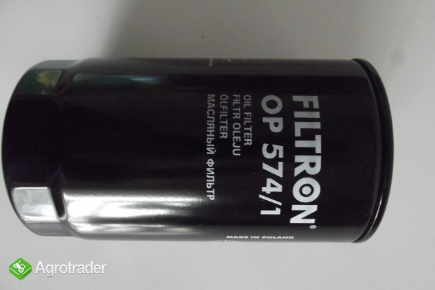 Filtr oleju OP 574/1 FILTRON - zdjęcie 2