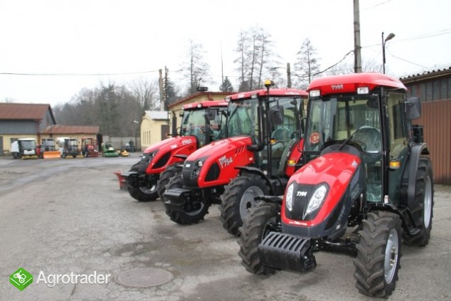 Ciągnik rolniczy komunalny  nowy TYM 603 60KM  sprzedaż - zdjęcie 1