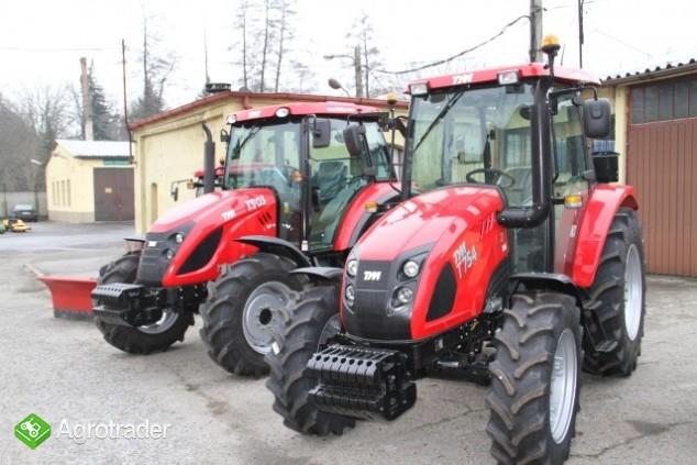 TYM T754 ciągnik 70 KM rolniczy komunalny nowy sprzedaż  - zdjęcie 2