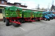 Pronar PT606 przyczepa rolnicza wywrotka trójstronna 6 ton promocja