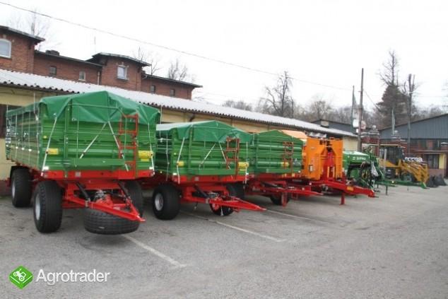 Pronar PT606 przyczepa rolnicza wywrotka trójstronna 6 ton promocja - zdjęcie 1