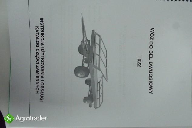 Katalog Pronar przyczepy,maszyny użytkowe,Instrukcje obsługi.