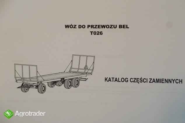 Katalog PRONAR Część Zamiennych, Instrukcje Obsługi - Przyczepy - zdjęcie 4
