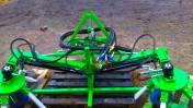 Wygarniacz dwustronny sadowniczy gałęzi patyków liści