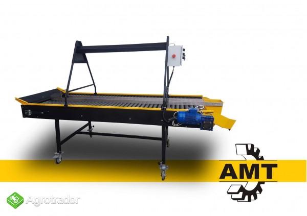 AMT Stół selekcyjny rolkowy, stół przebierczy  - zdjęcie 2