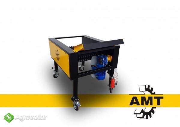 AMT,czyszczarka gumowa, szczotkarka, separator ziemi  - zdjęcie 1