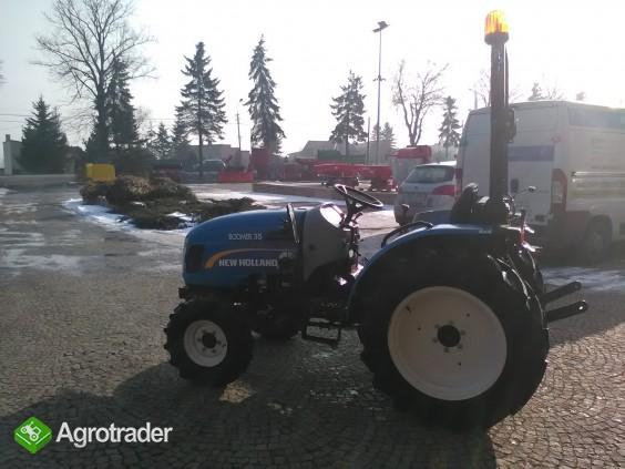 Ciągnik sadowniczy (kompaktowy) New Holland BOOMER 35 - zdjęcie 5