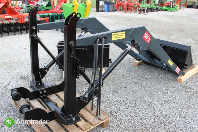 Tur ładowacz czołowy hydrauliczny III ursus c360 c 330 MF 255 T-25 - zdjęcie 3