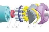 Silnik Linde HMF 135, HMR 50, HMR 55