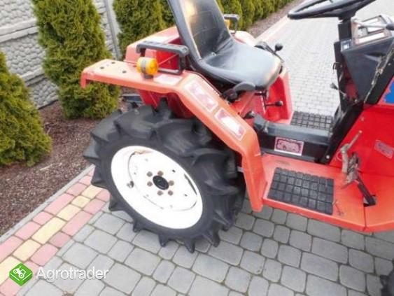 Yanmar F15 15KM 4x4 mini traktorek ogrodniczy kubota iseki - zdjęcie 5