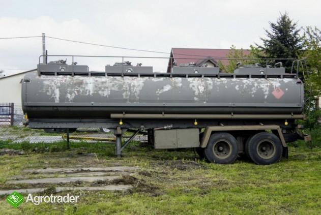 Cysterna paliwowa aluminiowa, naczepa,  4 x 6000 l - zdjęcie 1